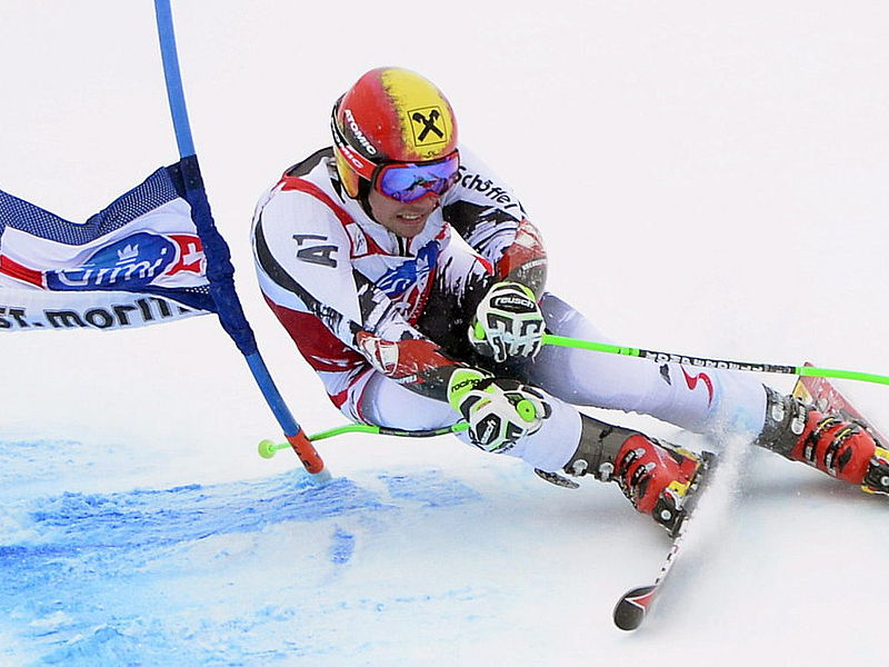 Slalom and giant slalom training in Tyrol
