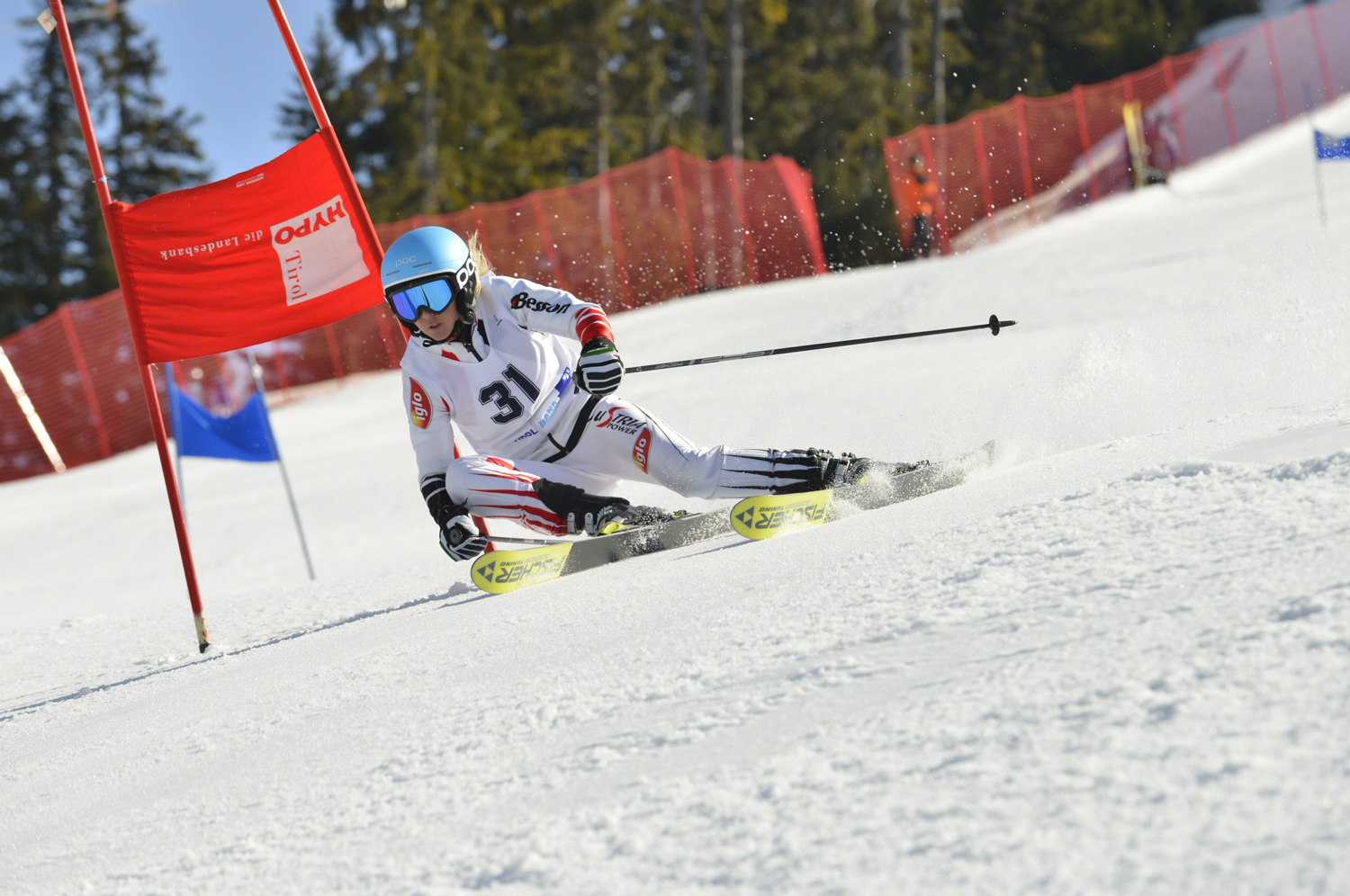 Ski race in Kühtai